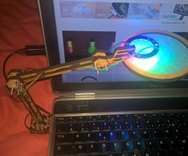 RGB LED architect Lamp