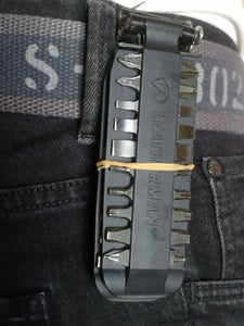 Congratulations You Now Have a Belt Clip for Your Leatherman Bit Kit
