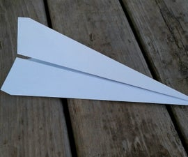 The Simplest Paper Airplane