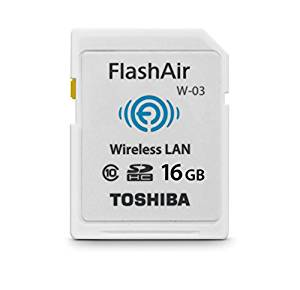 Picture of Toshiba Flashair Configuration