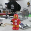 Sugru Iron Man Armor for you LEGO Minifigure
