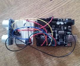Ultrasonic gesture based TV remote control