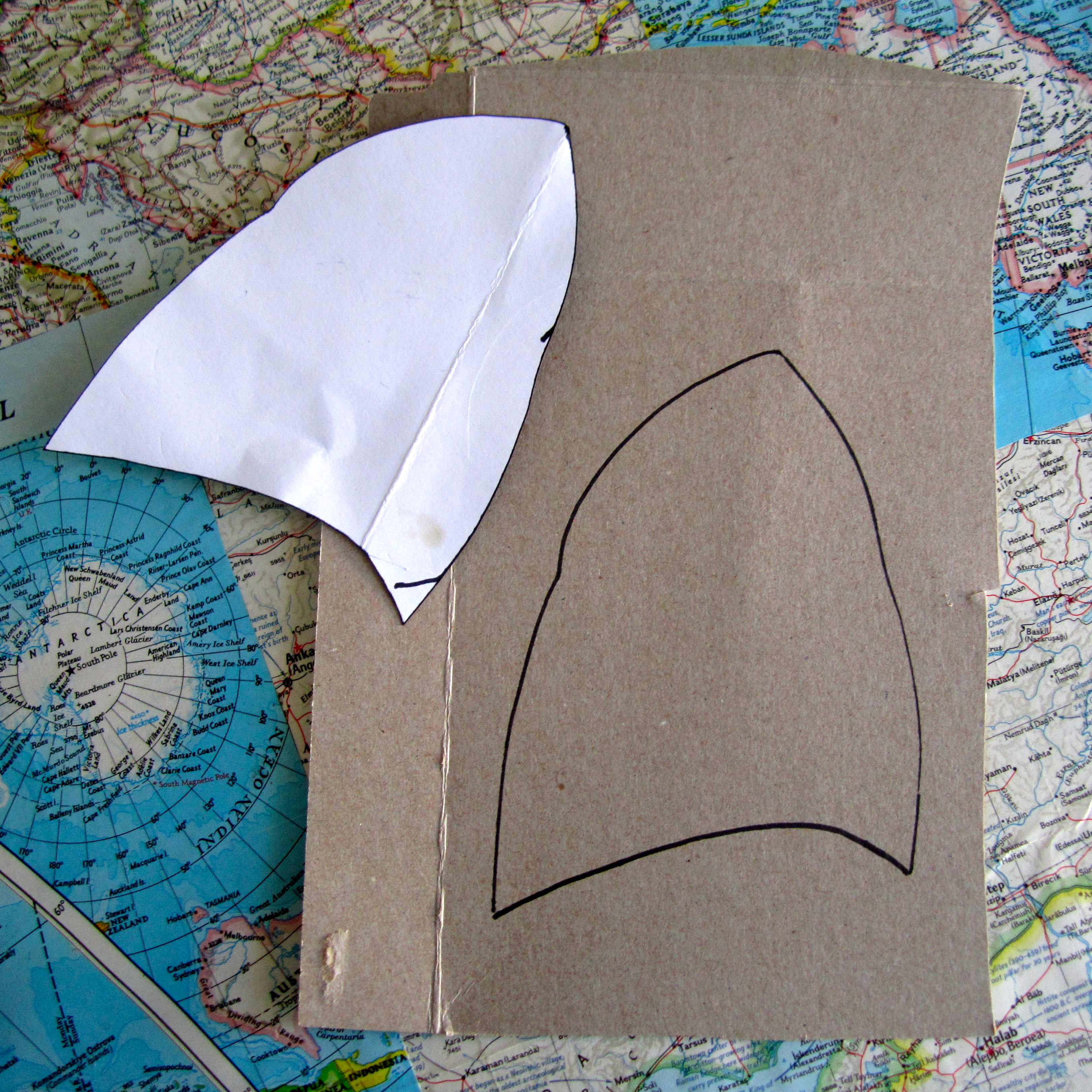 Picture of Cut Out Cardboard Ear Bases