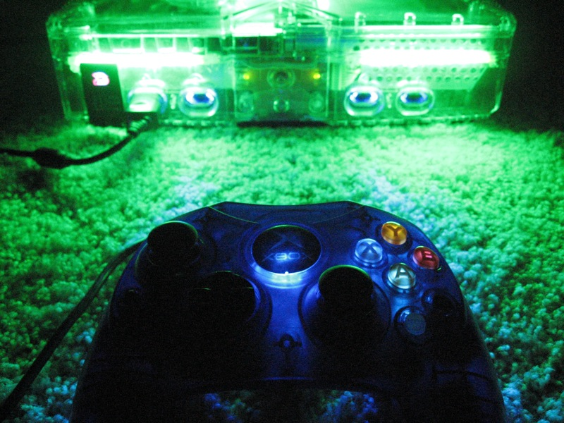 Picture of Light Up a Xbox Controller With LEDs
