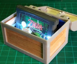 Zelda Treasure Chest (With Lights & Sound)
