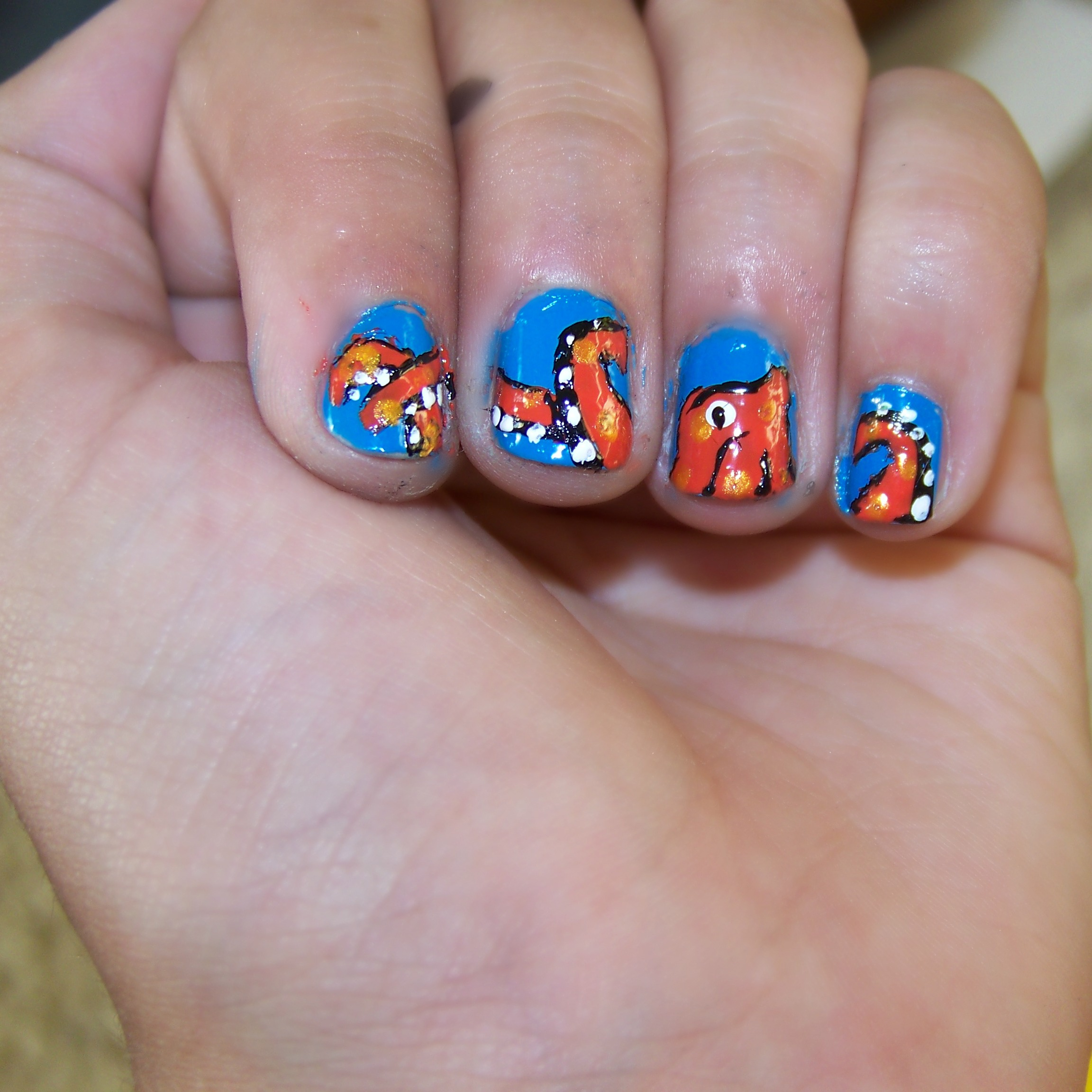 Picture of Octopus Nails