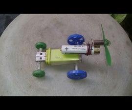 Make a Mini Pen Drive Racing Car