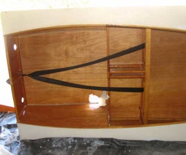 Boat Hole Repair - Replace Bottom Plywood