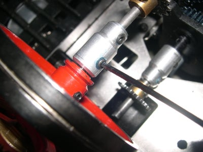 Attaching Shaft Adapters