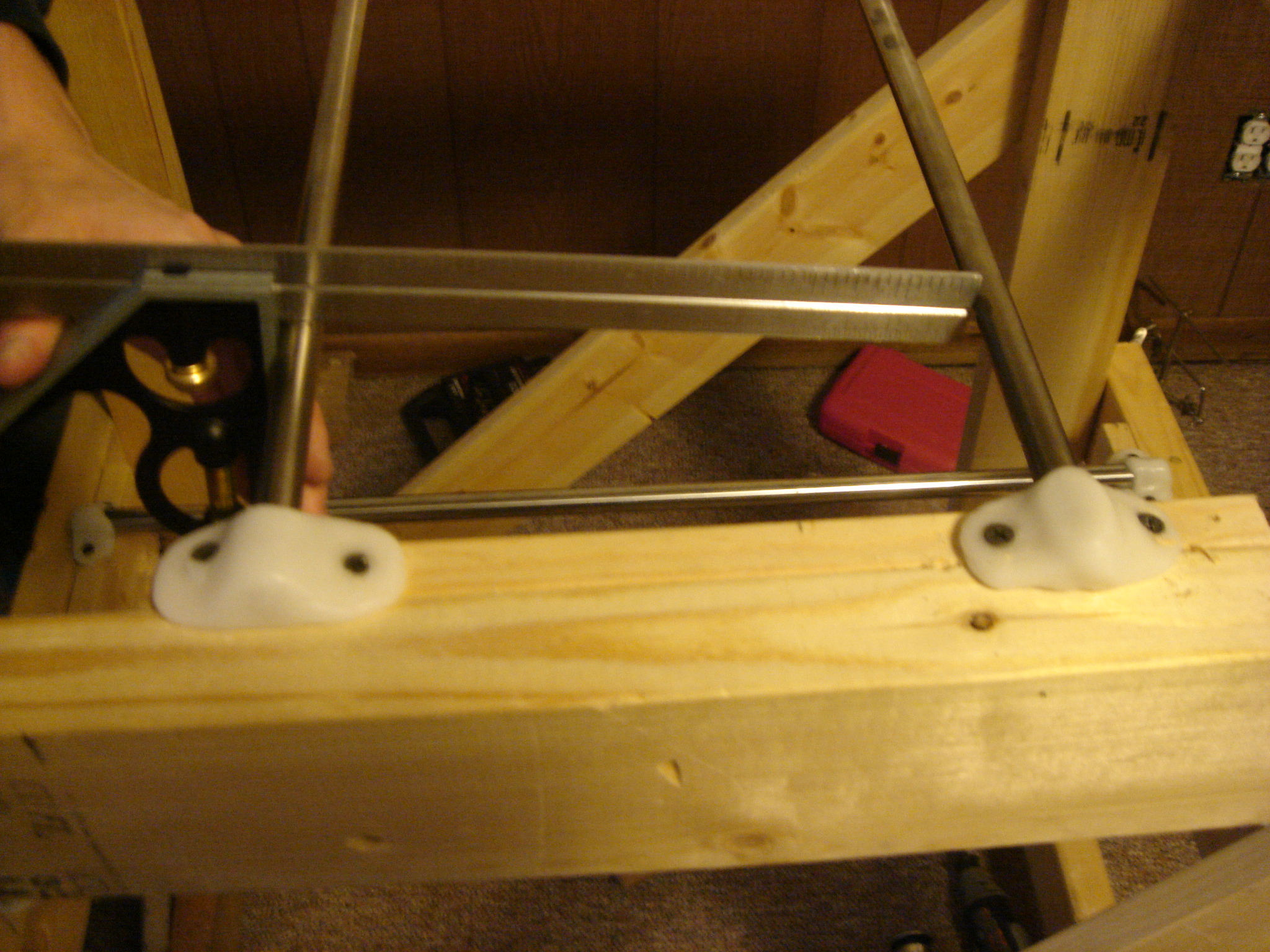 Picture of Mount Rods on Frame