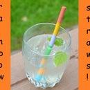 Rainbow Candy Sugar Straws