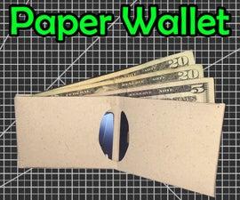 Slim Paper Wallet