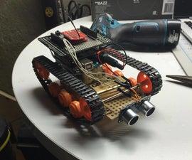 3d Printed Arduino Tank