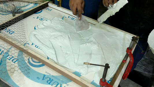 ​Pouring the First Layer
