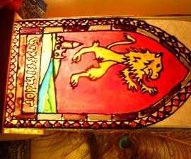 Hogwarts Houses Lamp.