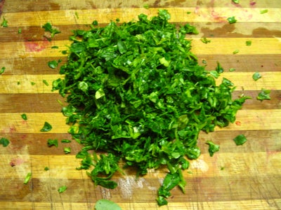 Add Chopped Fenugreek Leaves