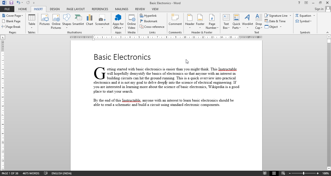 Picture of Create Your Text and Add Formatting