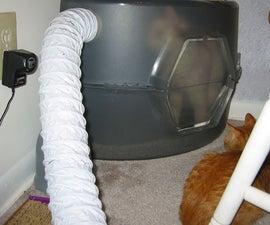Litter Box Vent Fan - Eliminate Cat Litter Stink
