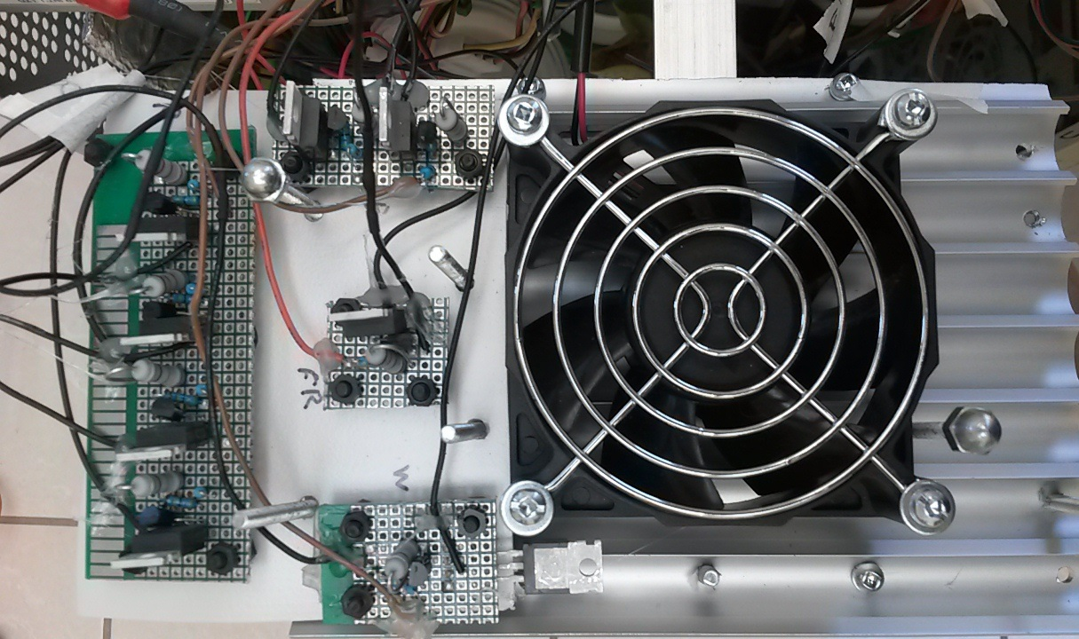 Picture of Install the Fan and LED Drivers