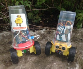 CupBots - 3D Printed Robotic platform for Arduino and Raspberry Pi