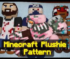 Crocheted Customizable Minecraft Plushie
