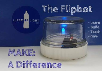 Liter of Light - FlipBot