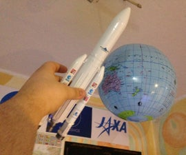 Model of Ariane 5  Rocket from The Martian movie