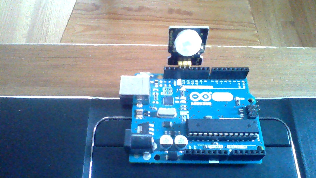 Picture of Mount PIR Motion Sensor on to the Arduino