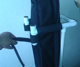 Portable guitar stand - PVC