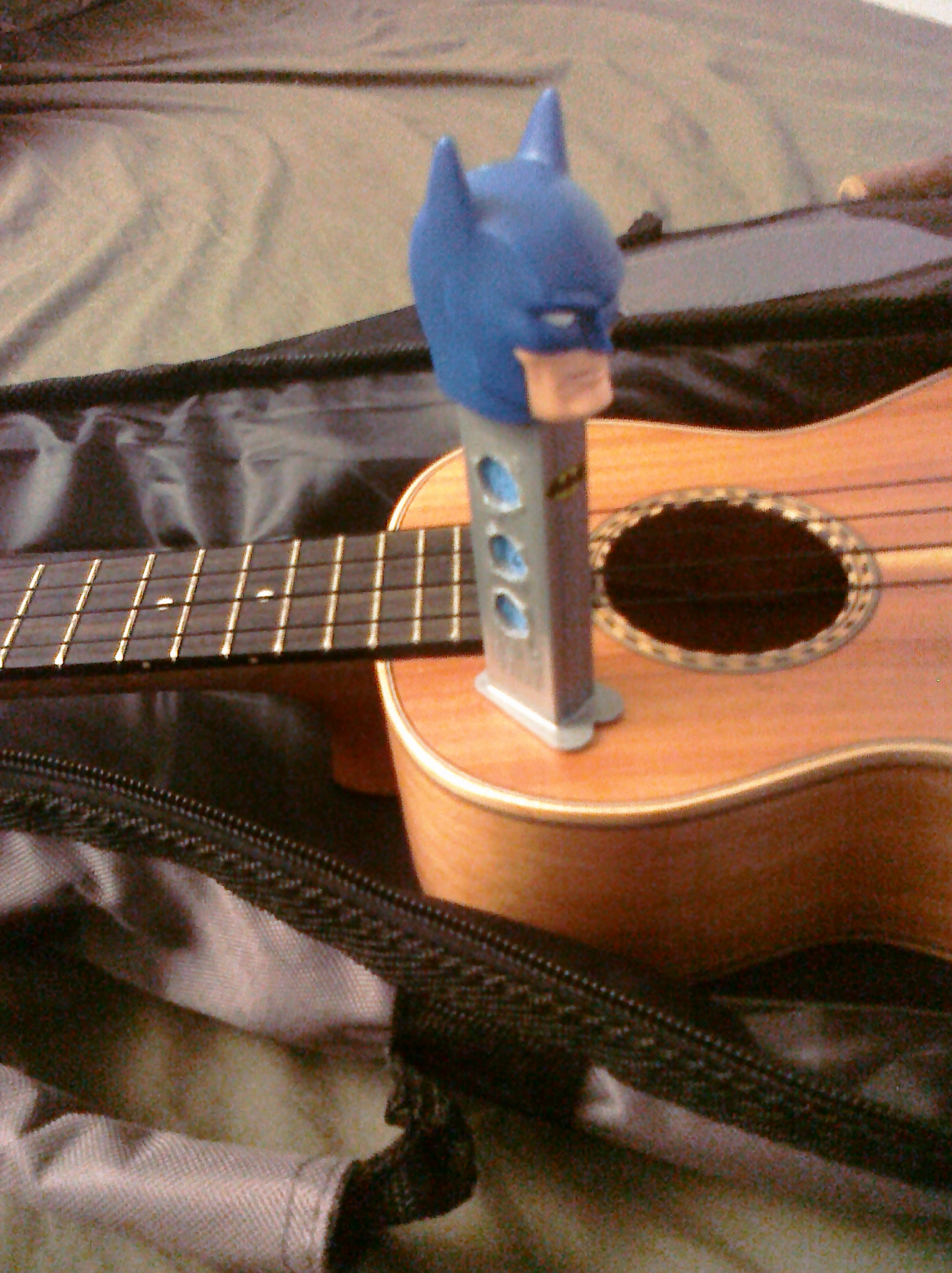 Picture of Pez Dispenser Ukulele / Guitar Humidifier