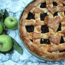 How to make Organic Dutch Blackberry Apple Pie | Pie Recipe