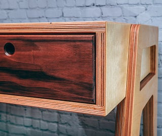 Modern Plywood Desk