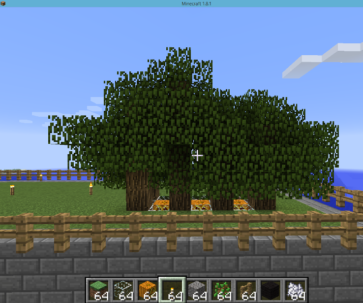 Minecraft Compact Tree Farm 6 Steps Instructables,Small Home Interior Design Images India