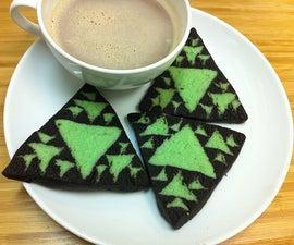 Sierpinski Triangle Fractal Cookies