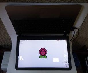 The Frankenputer! (Raspberry Pi Laptop)