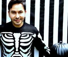 Halloween Skele-tee