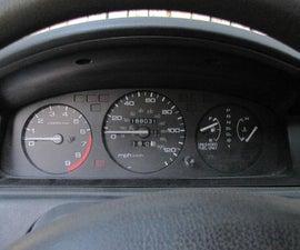 1995 Honda Civic Gauge Cluster Take-Apart & Cleaning