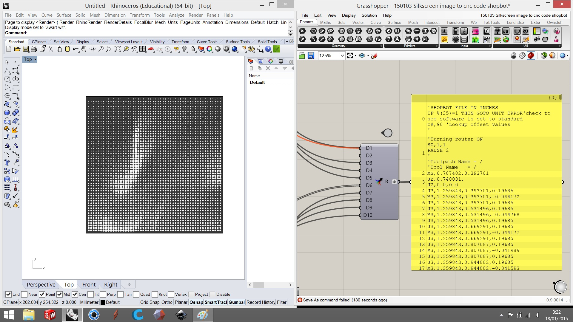 Picture of Generate Toolpaths & Test