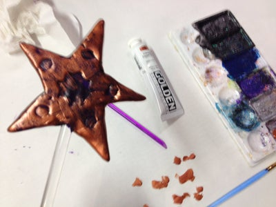 Paint the Star Gold