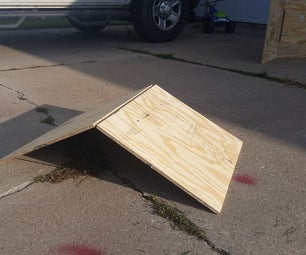 Quick and Easy Folding RC Ramp