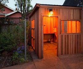 Cedar chicken coop condo