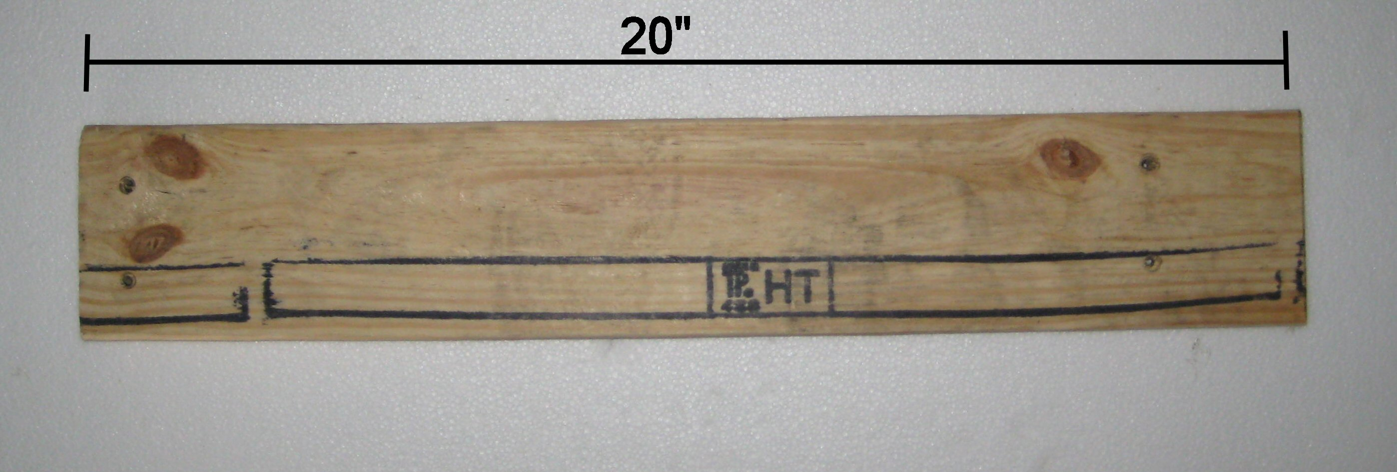 Picture of Measure and Cut the Front Legs/front Crosspiece/front Seat Slat