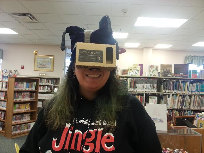 Picture of Hands Free Google Cardboard