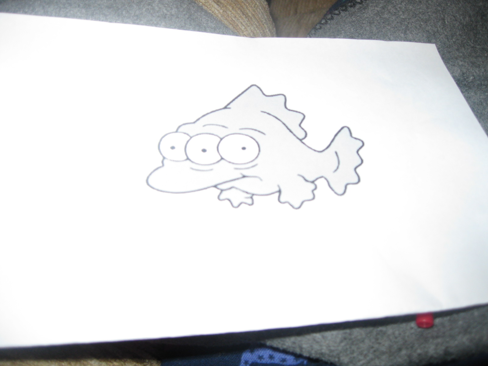 Picture of How to Make a 3 Eyed Fish