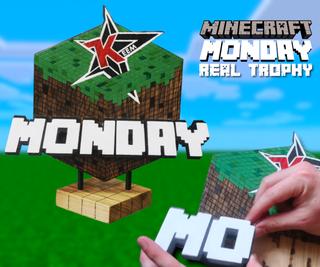 The Minecraft Monday Trophy