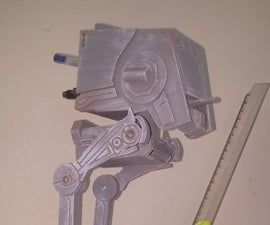 AT-STand - A Star Wars pen holder