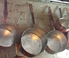 DIY Hand Wiped Tinning of Old Copper Pots/Pans - Step by Step Instructions