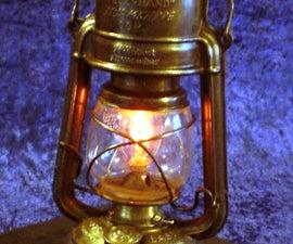 Steampunked Halloween Lantern
