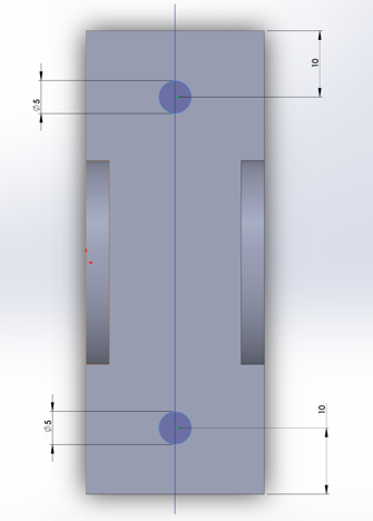 Picture of Hinge Bracket Directions Cont.
