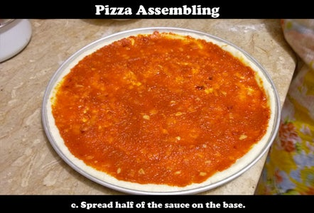 Assembling the Pizza